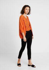 Kaffe - ASTRID CARDIGAN - Cardigan - burnt orange - 1
