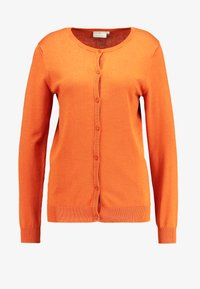Kaffe - ASTRID CARDIGAN - Cardigan - burnt orange - 3