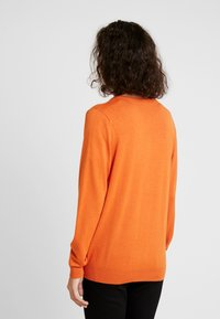 Kaffe - ASTRID CARDIGAN - Cardigan - burnt orange