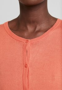 Kaffe - ASTRID CARDIGAN - Cardigan - dull orange - 4