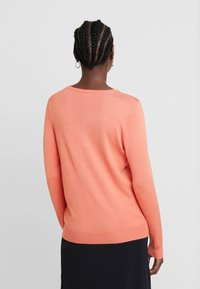 Kaffe - ASTRID CARDIGAN - Cardigan - dull orange - 2