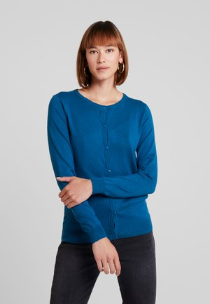 ASTRID CARDIGAN - Gilet - moroccan blue