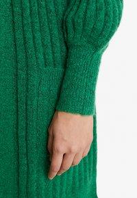 Kaffe - KAWENDY CARDIGAN - Vest - fern green melange - 4