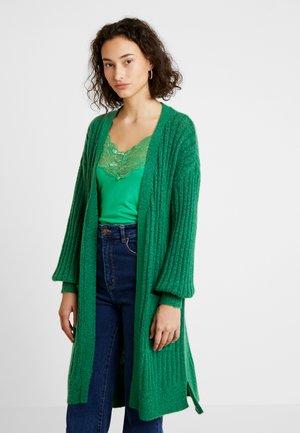 KAWENDY CARDIGAN - Vest - fern green melange