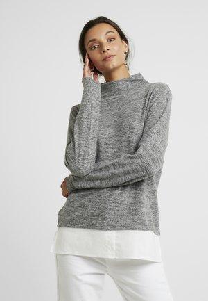KABELINA HIGHNECK - Fleecová mikina - grey melange