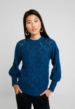 KAJOANNA - Strikpullover /Striktrøjer - moroccan blue