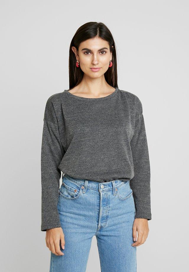 KASOFIA - Sweter - dark grey melange