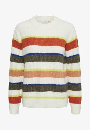 KATOMA  - Maglione - chalk multi stripe