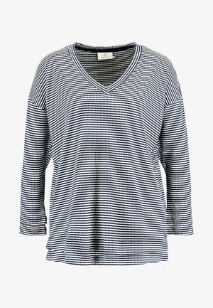 SUMMA - Long sleeved top - midnight marine/chalk