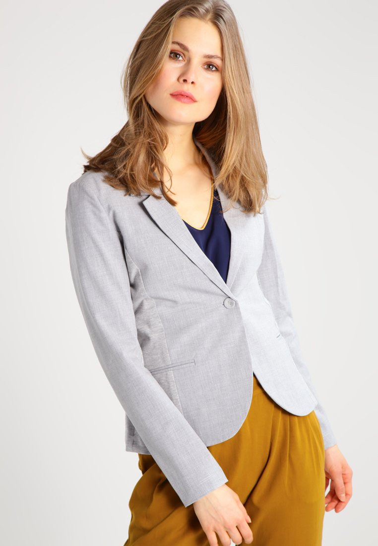 Kaffe - JILLIAN - Blazer - light grey melange