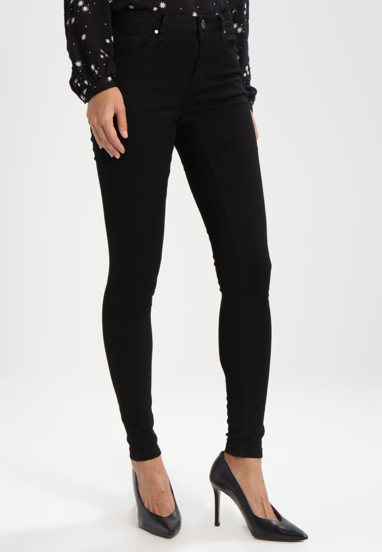 Kaffe - GRACE  - Jeans Skinny Fit - black deep