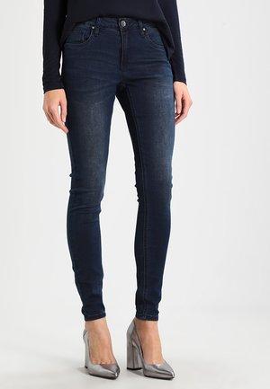 GRACE  - Slim fit jeans - deep well denim