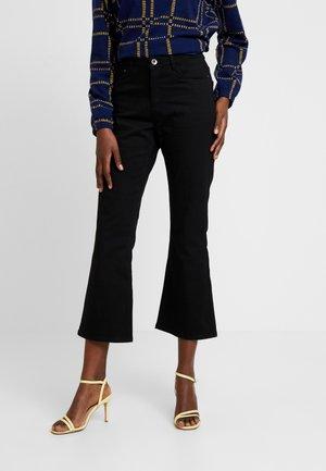 GRACE LONG JEANS - Jeans a zampa - black deep
