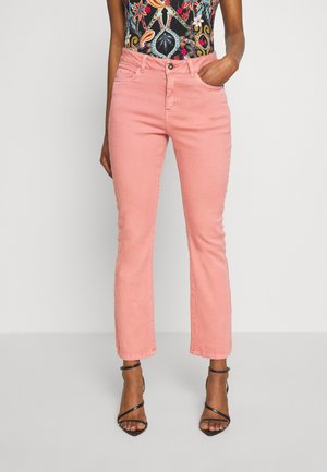KAJORDI  - Straight leg jeans - old rose