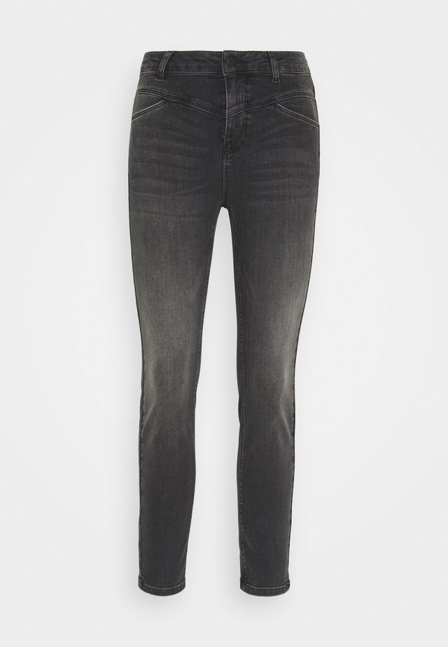 KAHADLEY  - Jeansy Slim Fit - black washed denim