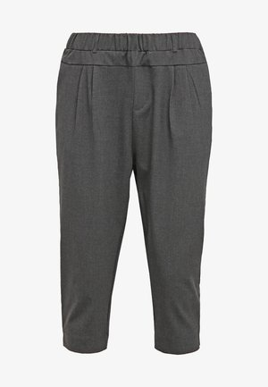 JILLIAN CAPRI PANTS - Kraťasy - dark grey melange