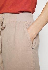 Kaffe - NAYA CAPRI - Trousers - cobblestone - 4