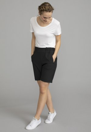 JILLIAN SOFIE  - Shorts - black deep