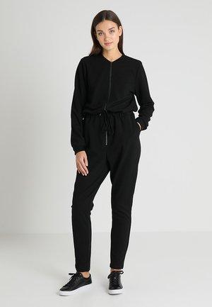 NINNA ZIP - Jumpsuit - black deep