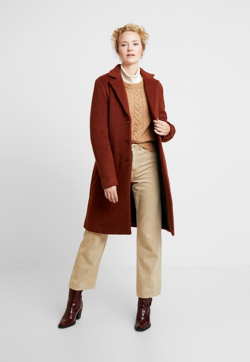 Kaffe - KAMISSI COAT - Classic coat - cherry mahogany