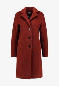 Kaffe - KAMISSI COAT - Zimní kabát - cherry mahogany - 5