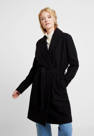 KAMILLO OUTERWEAR - Classic coat - black deep