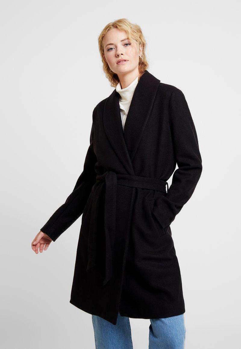 Kaffe - KAMILLO OUTERWEAR - Classic coat - black deep