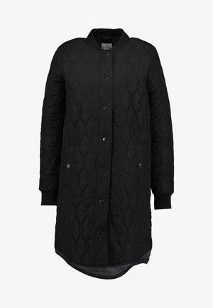 SHALLY QUILTED COAT - Halflange jas - black deep