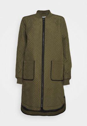 KAMICA QUILTED COAT - Short coat - grape leaf