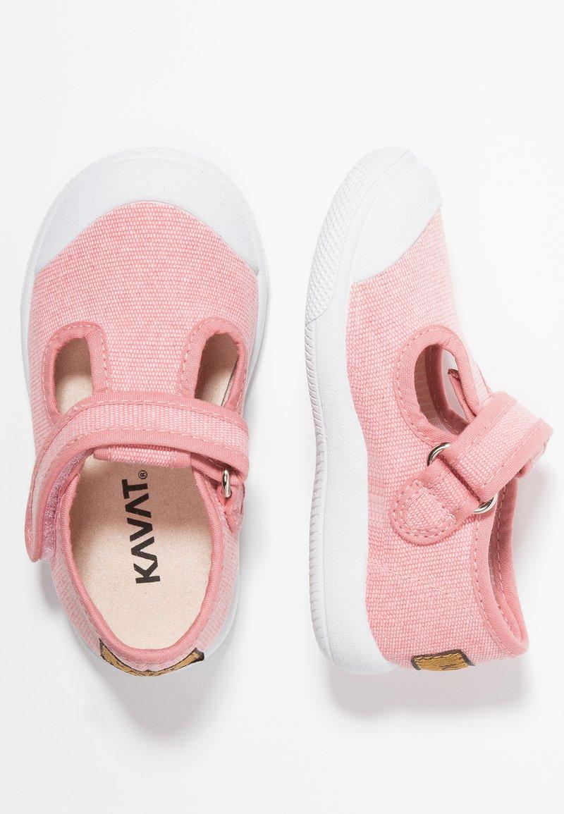 Kavat - MÖLNLYCKE - Zapatos con cierre adhesivo - pink