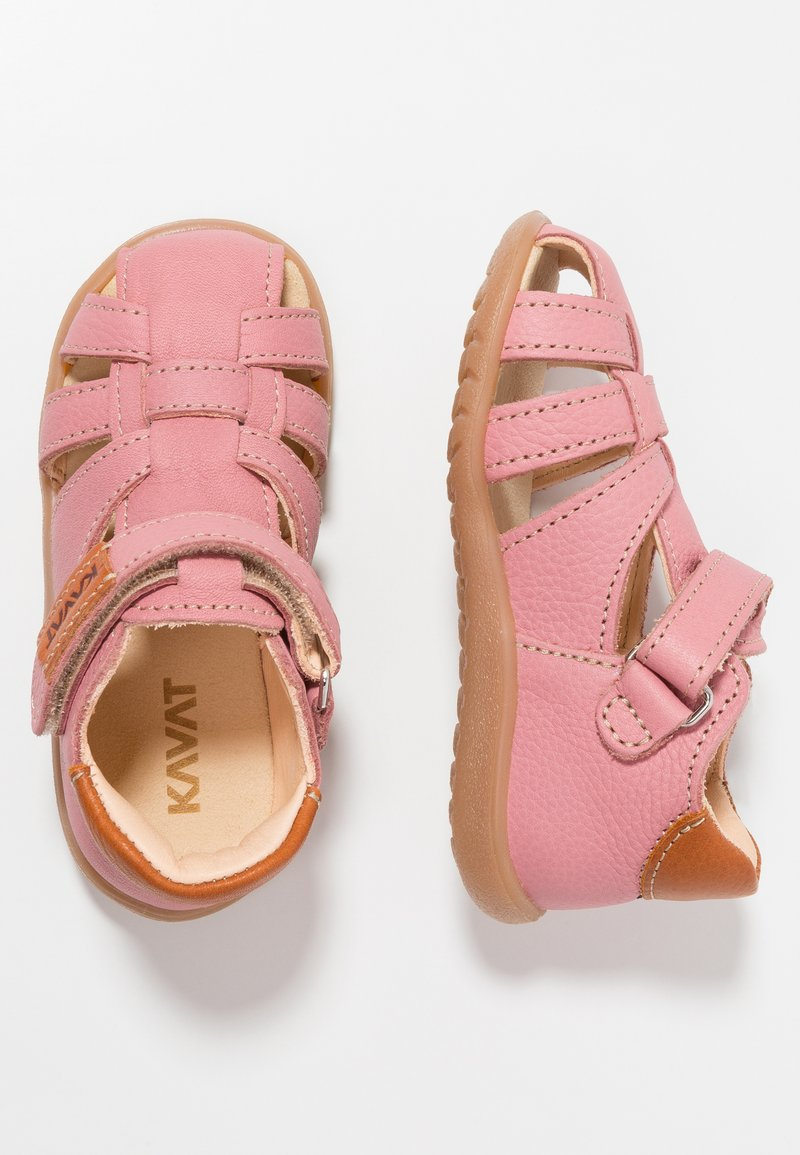 Kavat - RULLSAND - Baby shoes - pink