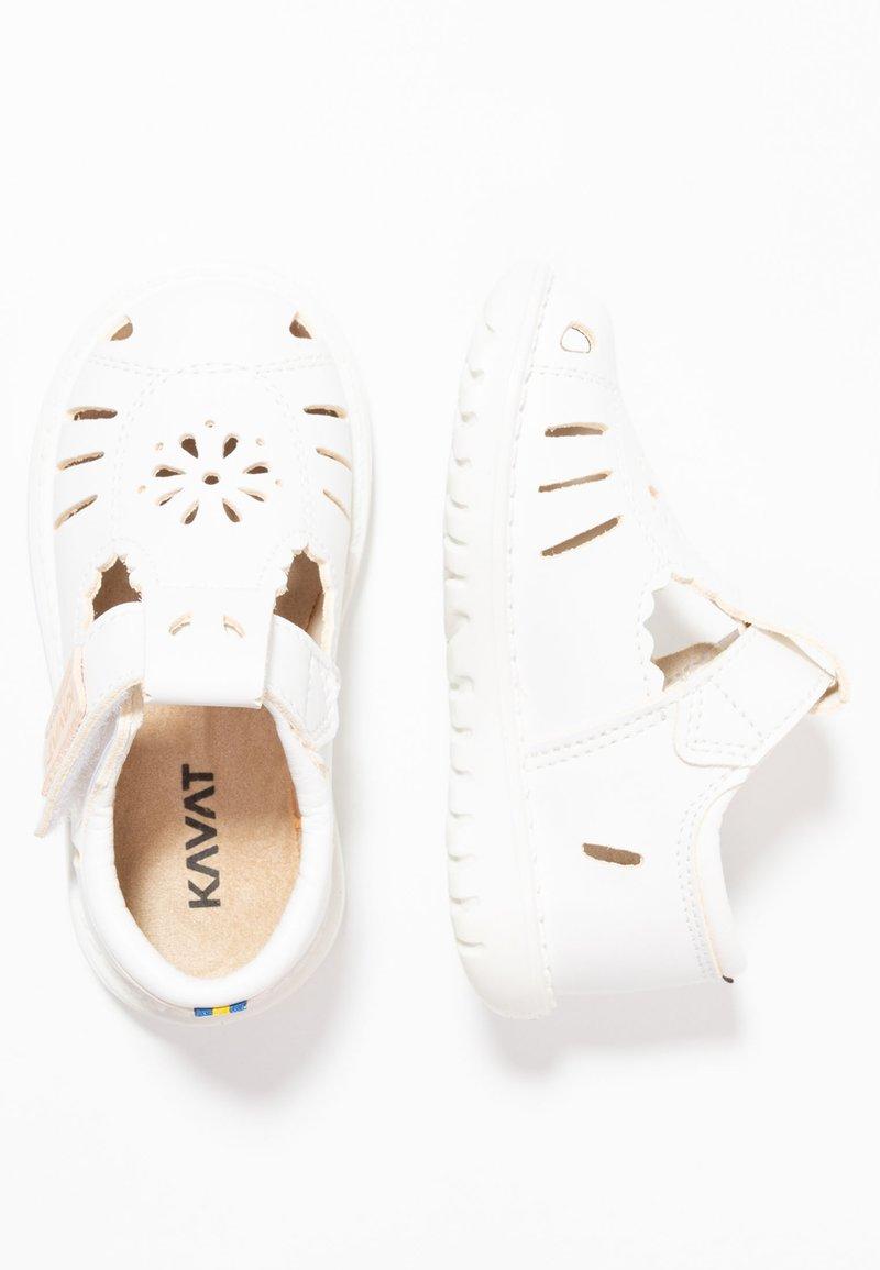 Kavat - BLOMBACKA - Sandaler - white