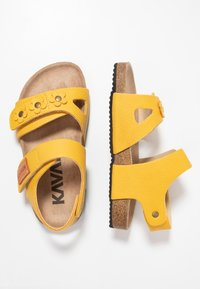 Kavat - SKOGHUS - Sandaler - yellow - 0
