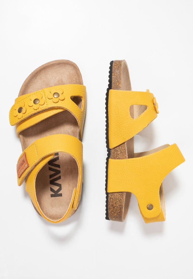 Kavat - SKOGHUS - Sandaler - yellow