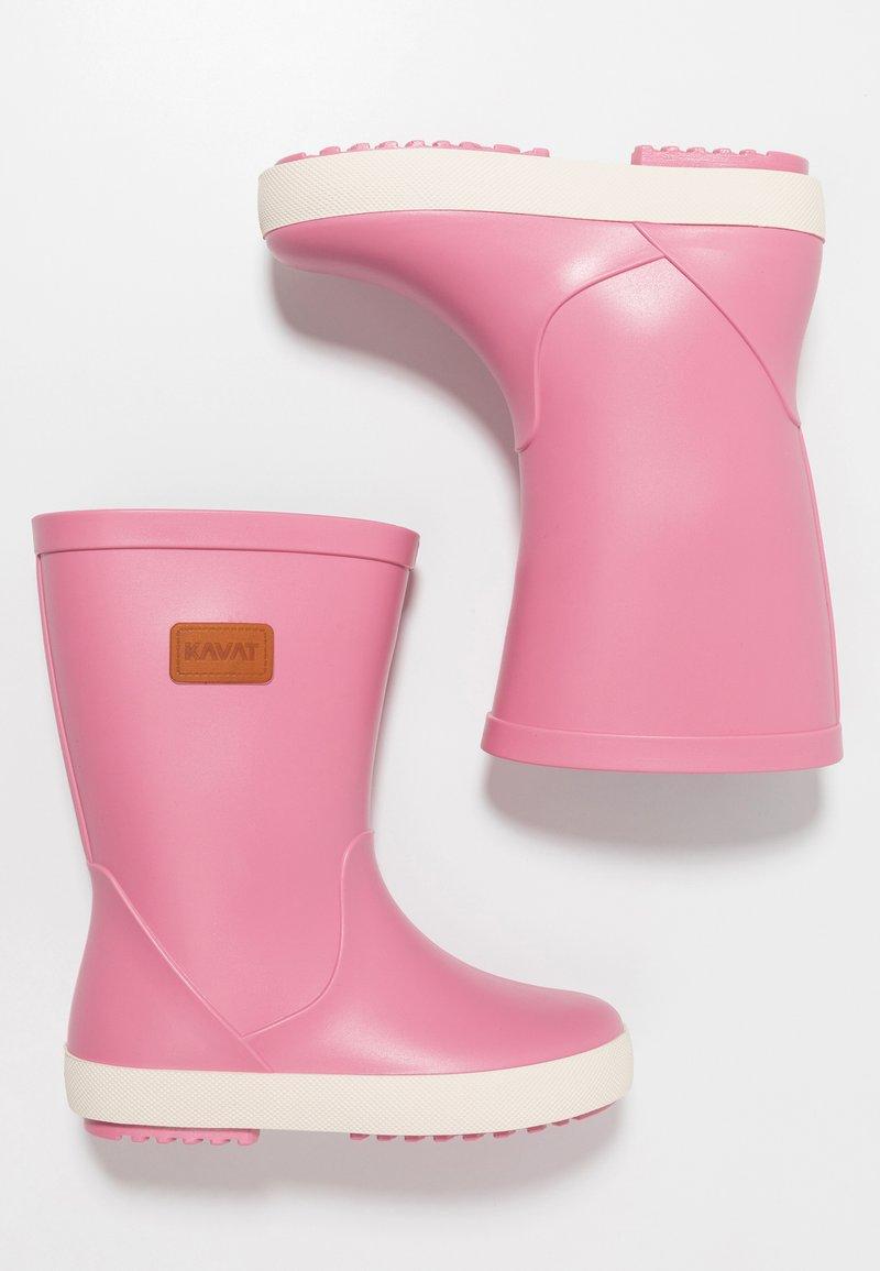 Kavat - SKUR WP - Stivali di gomma - strawberry rose
