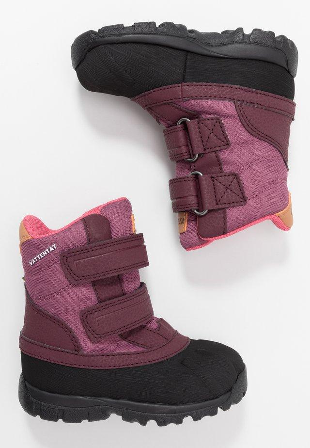 FRÅNÖ WP - Winter boots - damson plum