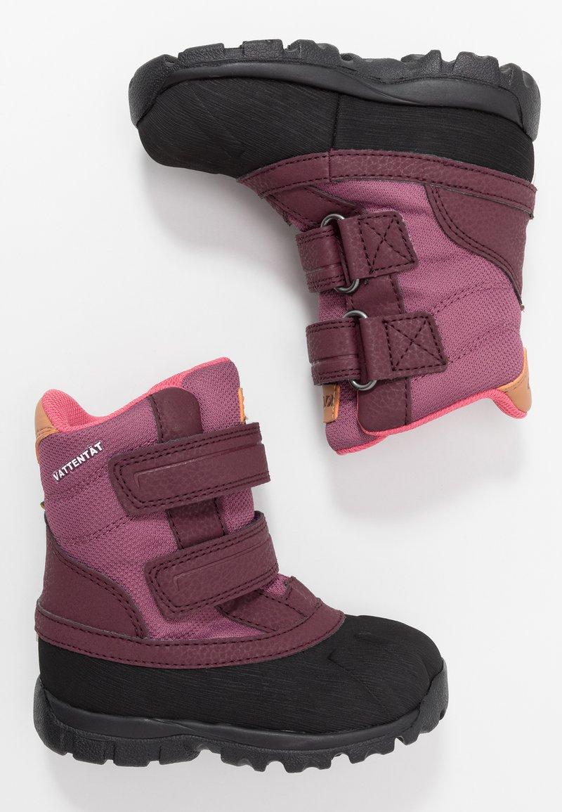 Kavat - FRÅNÖ WP - Winter boots - damson plum