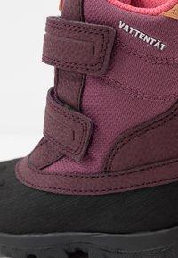 Kavat - FRÅNÖ WP - Winter boots - damson plum - 2