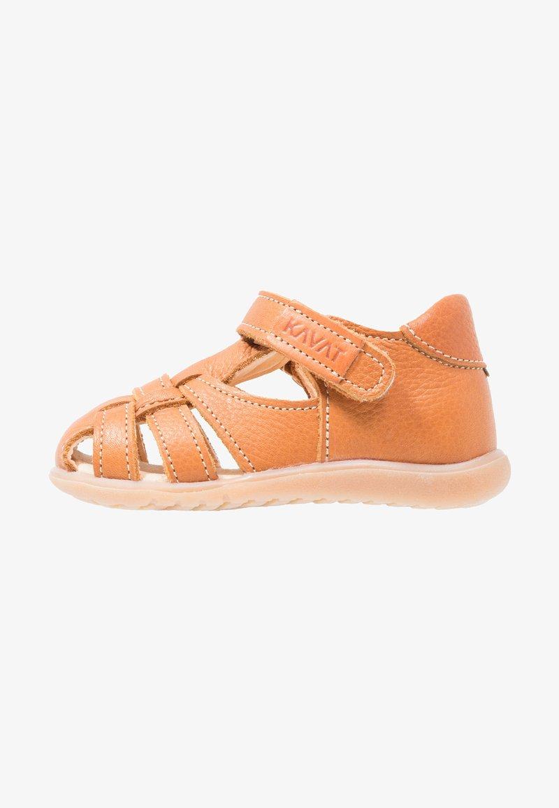 Kavat - RULLSAND - Baby shoes - light brown