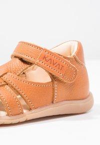 Kavat - RULLSAND - Baby shoes - light brown - 5