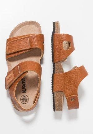 BOMHUS - Sandály - light brown