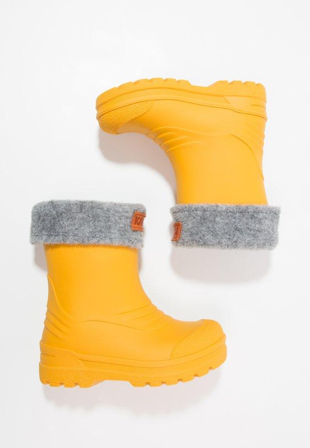 GIMO  - Stivali di gomma - yellow