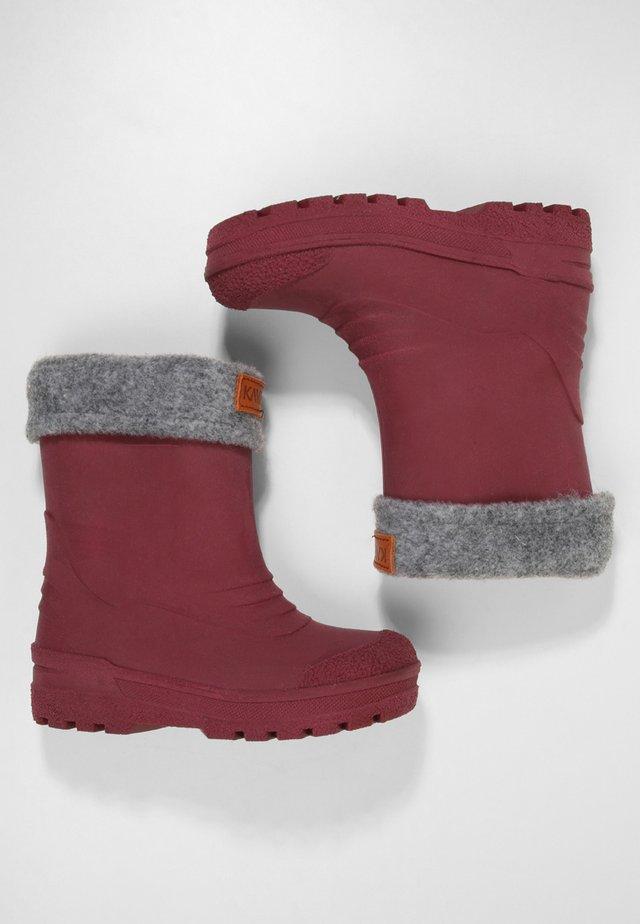 GIMO  - Stivali di gomma - bordeaux