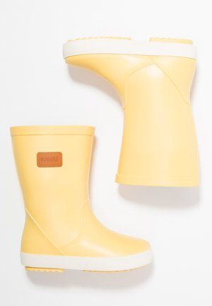 SKUR WP - Bottes en caoutchouc - light yellow