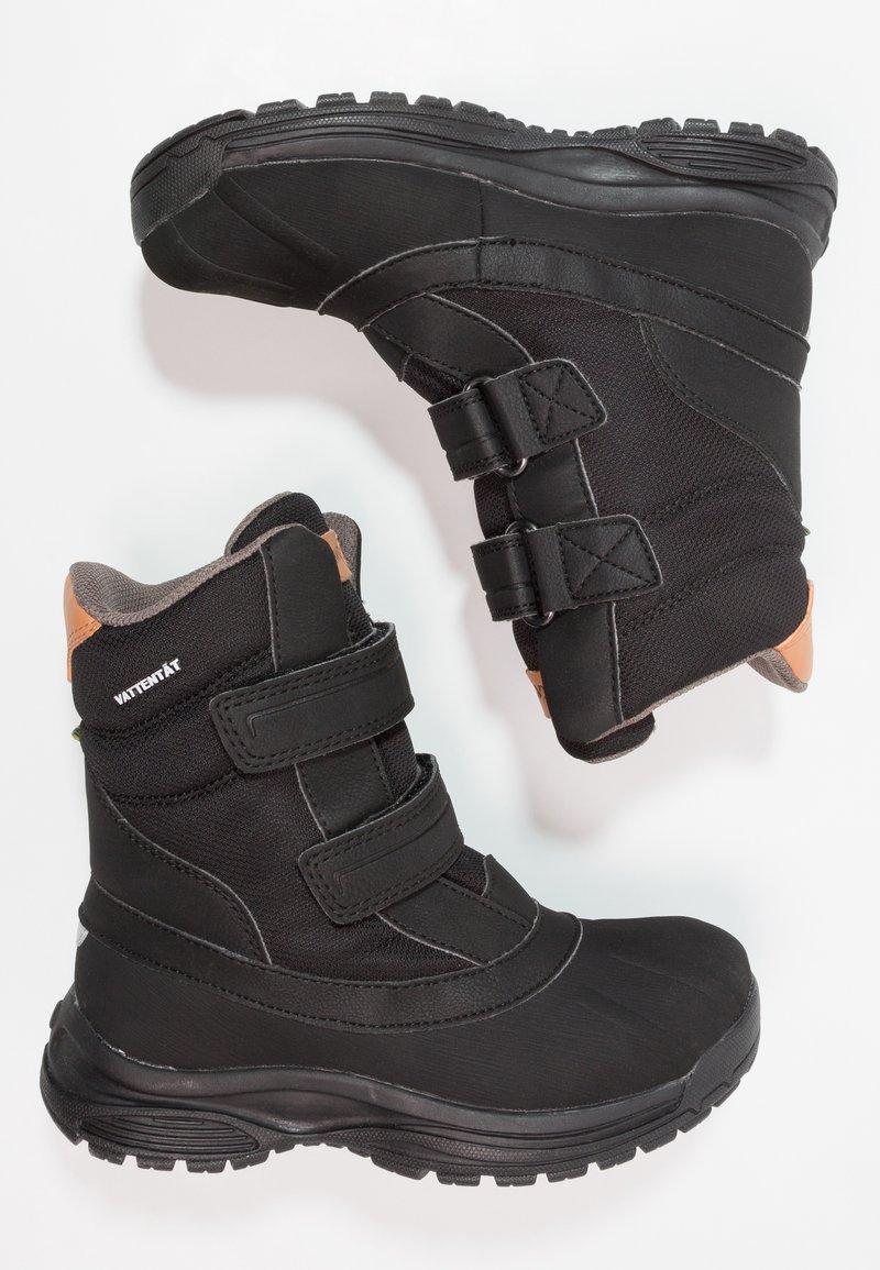 Kavat - SVARTVIK WP - Winter boots - black