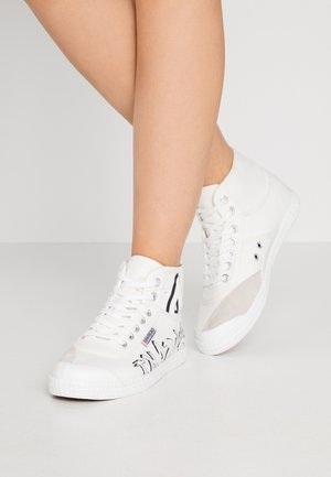 GRAFFITI  - Sneakers high - white