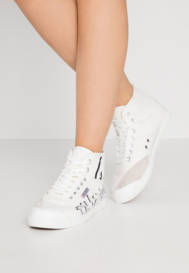 GRAFFITI  - High-top trainers - white