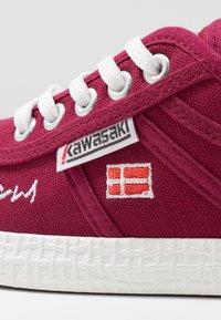Kawasaki - SIGNATURE - Sneakers - beet red - 2