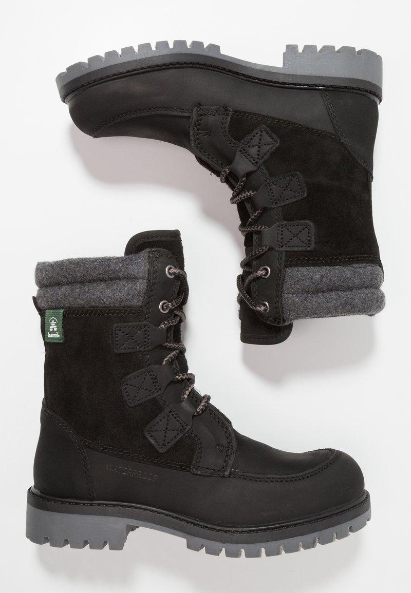 Kamik - TAKODALO - Hiking shoes - black
