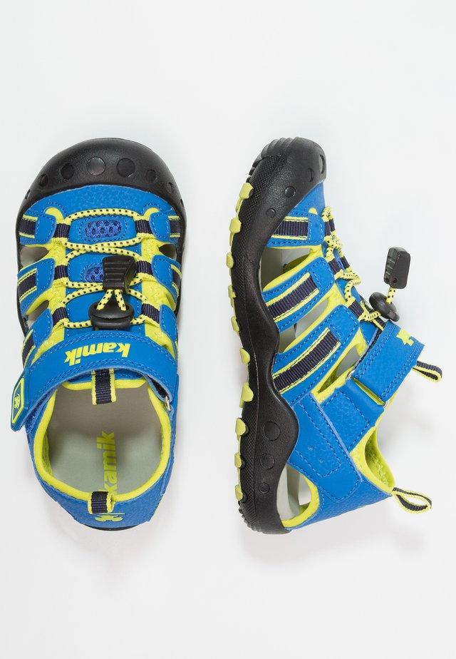 CRAB - Walking sandals - blue